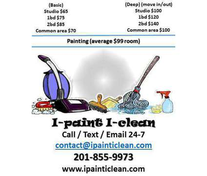 ➫●○▌►Cleaning●Painting●Carpet shampoo is a Other Services service in Bloomfield NJ