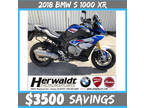 2018 BMW S 1000 XR White/Racing Blue/Red XR