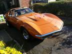 1971 Orange Chevrolet Corvette