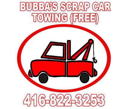 Scrap Car Removal is a Auto & Other Vehicle Services service in Oakville ON