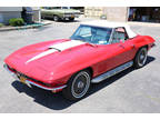 1967 Red Chevrolet Corvette