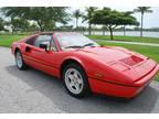 1986 Red Ferrari 328
