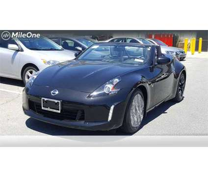 2019 Nissan 370Z Base is a Black 2019 Nissan 370Z Base Convertible in Silver Spring MD