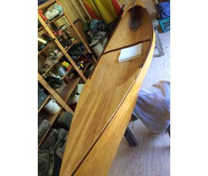 Canoe, white pine stripped is a 12 foot White 2018 Small Boat in Stevensville MD