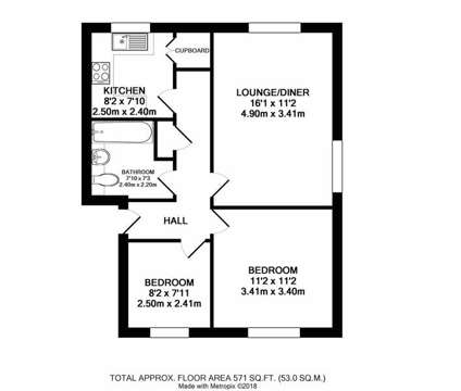 2 bed Flat in Rugby WAR is a Flat