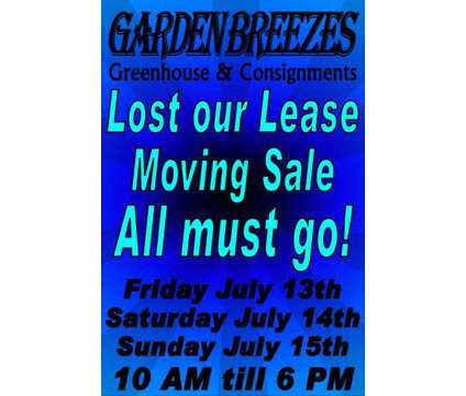 Lost my Lease/Everything Must Go/Tag Sale | Arts & Crafts