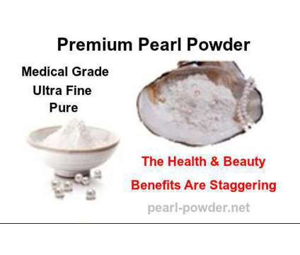 Pearl Powder Is The Secret To Knockout Beauty & Radiant, Clear Skin is a Blue Skin Cares for Sale in Joplin MO