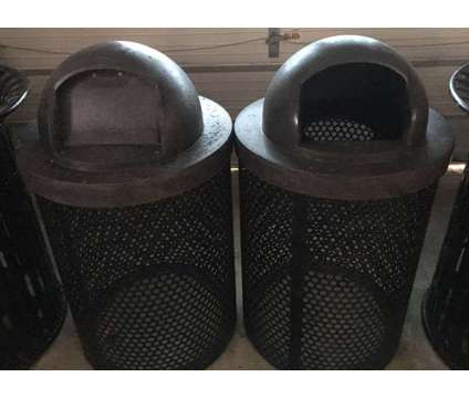 Heavy Duty Outdoor Steel Trash Can Buckets Barrels Used is a Office & Businesses for Sale in Orlando FL