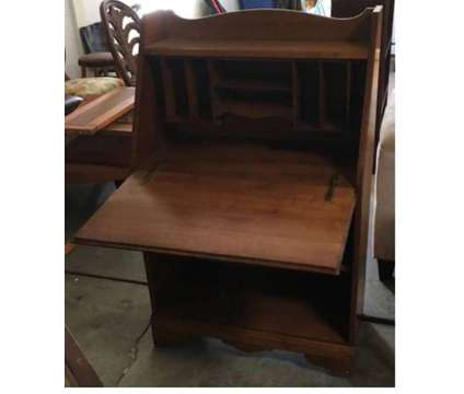 Old Wooden Secretary Desk with Door that Folds Down is a Desks for Sale in Orlando FL