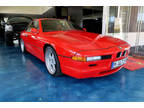 1994 Red BMW 8 Series