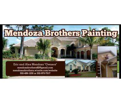 Mendoza Brothers Painting is a Painting & Staining Services service in Ocala FL