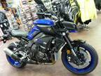 2018 Yamaha MT-10 Yamaha Blue Motorcycle for Sale