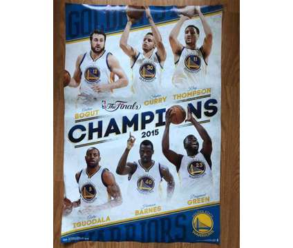 Golden State Warriors championship poster is a Sports Memorabilias for Sale in Fremont CA