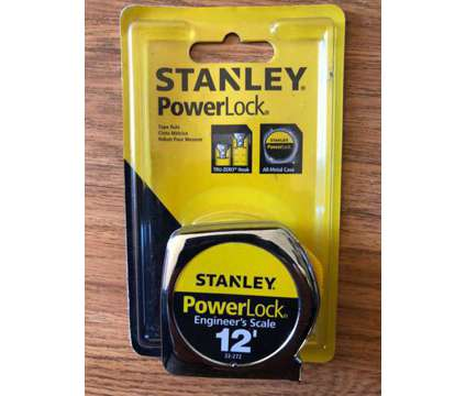 New Stanley measuring tape 12' is a Hand Tools for Sale in Fremont CA