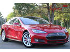 2015 Red Multi-Coat Tesla Model S