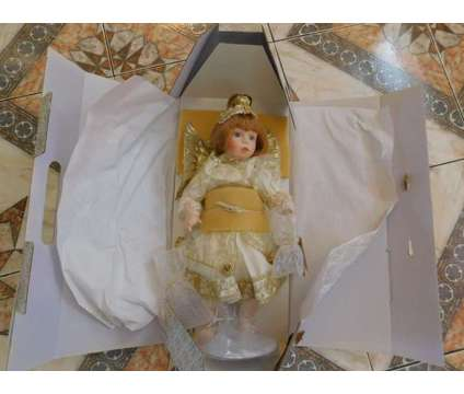 New in Boxes! Franklin Mint Porcelain Dolls is a New Collectibles for Sale in Sudbury MA