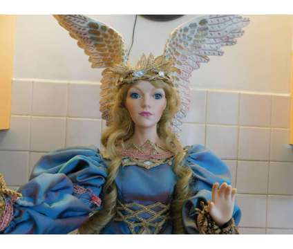 "Franklin Mint - House of Fabrege - Angel of Hope!!! 28"" Tall is a Blue, Pink Collectibles for Sale in Sudbury MA"