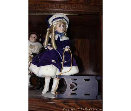 FOUR Franklin Mint Winter Princess Dolls is a Collectibles for Sale in Sudbury MA