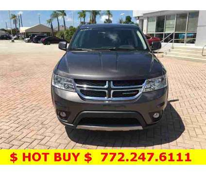 2018 Dodge Journey SXT is a Grey 2018 Dodge Journey SXT SUV in Stuart FL
