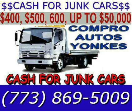 Need a junk car buyer today with cash? We want to buy your is a Other Services service in Chicago IL