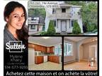 Triplex in montreal-nord