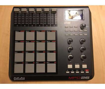 akai mpd26 is a Musician & Band News & Announcements listing in Chicago IL
