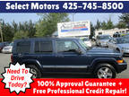 2010 Blue Jeep Commander
