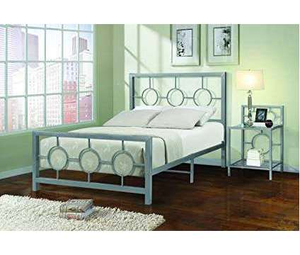 Metal Full Size Bed is a Beds for Sale in Waltham MA