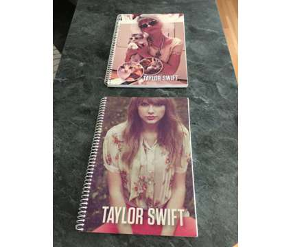 Taylor Swift Spiral Lined Notebooks is a Books & Magazines for Sale in Wescosville PA