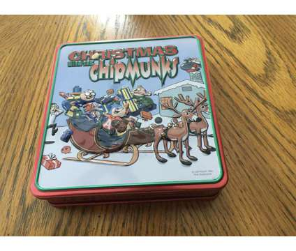 Christmas with the Chipmunks Tin is a Everything Else for Sale in Wescosville PA