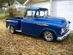 1957 Chevrolet Chevy Truck 3100 Sapphire