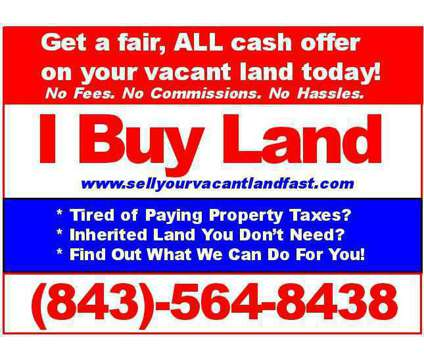 Sell Your Vacant Land Fast in Charleston SC is a Land