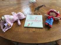 Strawberry Shortcake Doll, Blankie, Book, Giraffe