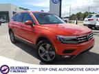 2018 Orange Volkswagen Tiguan