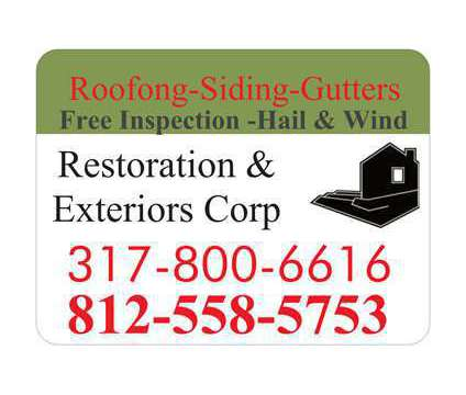 Roofing-Siding Gutters is a Roofing, Siding & Gutters service in Greensburg IN