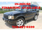 2003 Java Black Land Rover Discovery