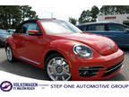 2018 Orange Volkswagen Beetle Convertible