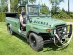 2000 RARE BAW DIESEL Isuzu Russian Military Transport 4x4 Truck