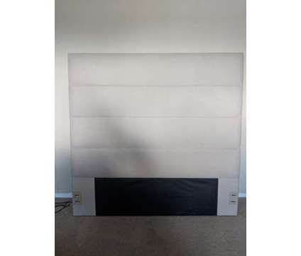 Great Condition West Elm Queen Headboard is a Beds for Sale in Valley Village CA