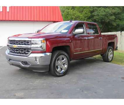 Used 2017 Chevrolet Silverado 1500 4WD Crew Cab 143.5 is a Red 2017 Chevrolet Silverado 1500 Car for Sale in Kannapolis NC