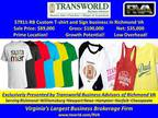 Business For Sale: Custom T -