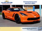 2019 Chevrolet Corvette Orange, new
