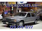 1989 Gray Volvo 740