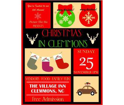 Annual Community Christmas in Clemmons Event is a Celebrations listing in Clemmons NC