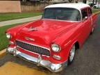 1955 Chevrolet Bel Air Red|White, 2200 miles
