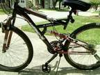 18 speed mountain bike 22 inch wheels $255+ in upgrades