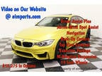 2015 Austin Yellow Metallic BMW M4