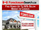 Foreclosures and Bank-Owned Homes at Massive discounts
