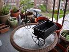Tricycle Iron Planter for Indoor /Outdoor