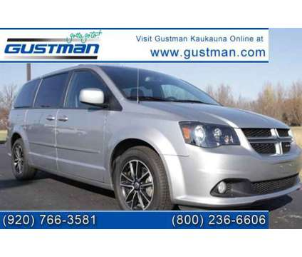 2017 Dodge Grand Caravan GT is a Silver 2017 Dodge grand caravan GT Car for Sale in Butternut WI